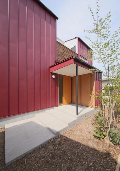 外観5 (赤の家・RED HOUSE)