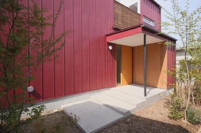 外観6 (赤の家・RED HOUSE)