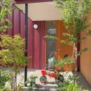 赤の家・RED HOUSEの写真 玄関ポーチ