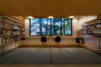 書斎 (大屋根の家)