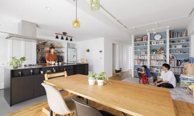 K邸--仕事と暮らしが同居する、住まいの中のアトリエ