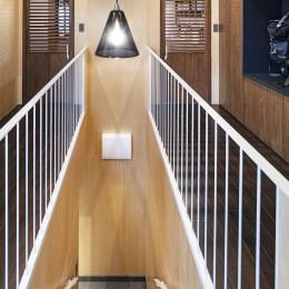 Horn--アクティブに一人暮らしを楽しむ、理想のセカンドライフを実現する住まい (廊下・階段)