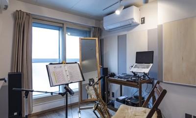 Horn--アクティブに一人暮らしを楽しむ、理想のセカンドライフを実現する住まい (音楽室)