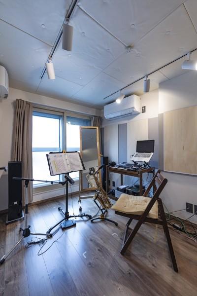 音楽室 (Horn--アクティブに一人暮らしを楽しむ、理想のセカンドライフを実現する住まい)