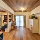 木張りで やさしい空間にの写真 洋室