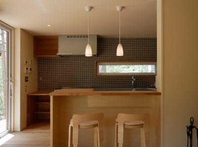 キッチン (銀の家)