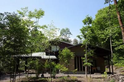 軽井沢 Villa-N (外観)