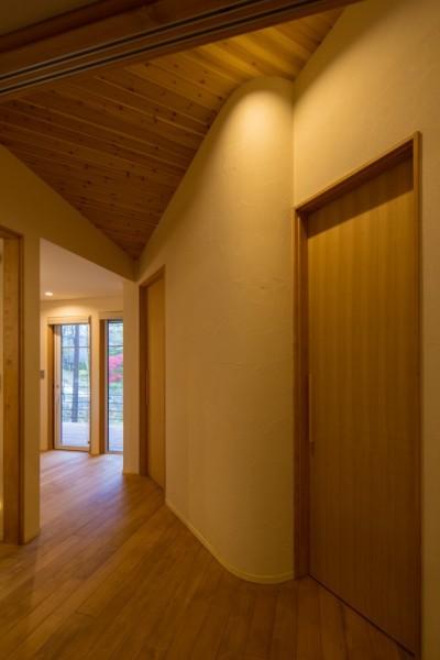 廊下 (観風荘)
