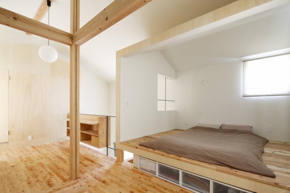 公園の傍の家 (寝室)