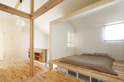 寝室 (公園の傍の家)