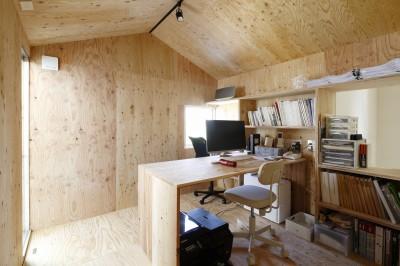 書斎 (公園の傍の家)