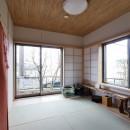 「庭を愉しむ家」の写真 和室