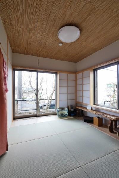和室 (「庭を愉しむ家」)