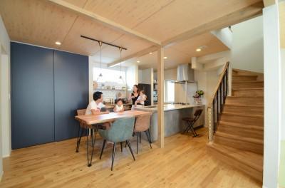 リノベーションでLCCM住宅相当に性能向上 (ダイニング・キッチン)