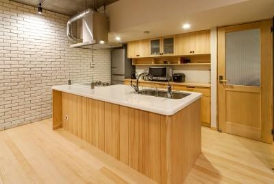 大屋根の家 (キッチン)