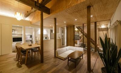 土間ギャラリーの家