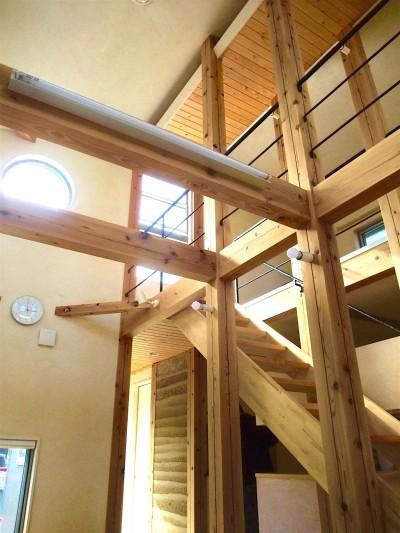 ちいさな木のオフィス 〜 カフェのような店舗併用住宅 〜 (リビング)