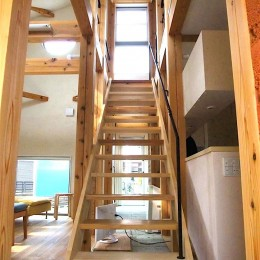 ちいさな木のオフィス 〜 カフェのような店舗併用住宅 〜
