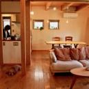 さくら 〜薪ストーブのある木の家〜の写真 リビングダイニングキッチン