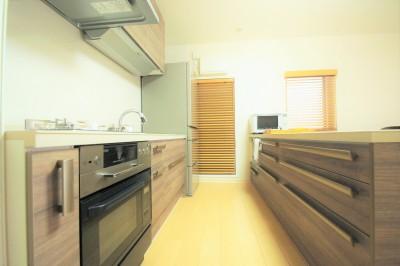 キッチン (夫婦でゆったり~これからも暮らしやすい家~)