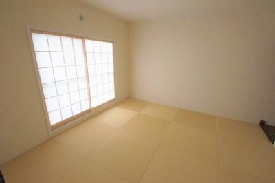 和室 (夫婦でゆったり~これからも暮らしやすい家~)