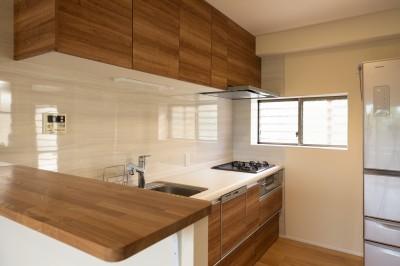 キッチン (ビタミンカラーの家)