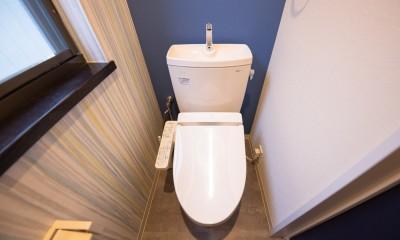 ビタミンカラーの家 (トイレ)