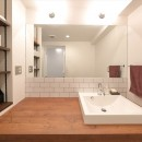 ORDERED BROOKLYN ー心地よい「秩序感」が漂う家ーの写真 洗面所