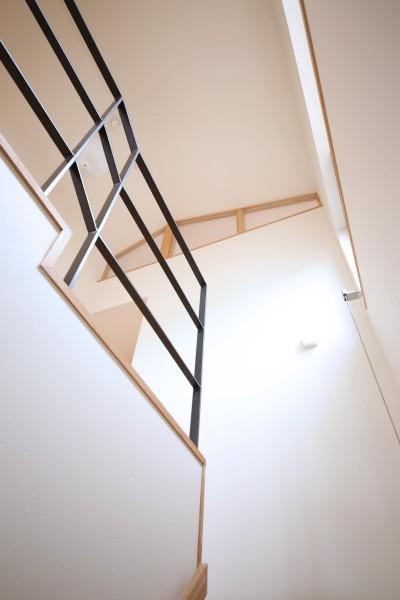 階段 (赤の家・RED HOUSE)
