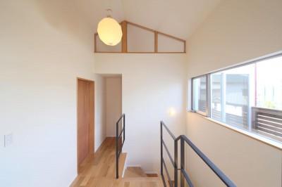 階段ホール (赤の家・RED HOUSE)