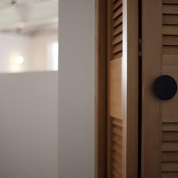 private villa nook (クローゼットのドア)