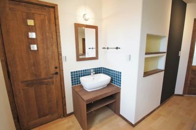 2F 手洗い場 (大きなテラスのある~理想の家~)