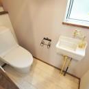 大きなテラスのある~理想の家~の写真 1F トイレ