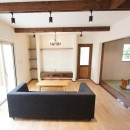 ヒラヤマホームの住宅事例「家族の憩いの場~大きなテラスのある家~」