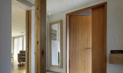 玄関|House-H Renovation / 築40年木造住宅のリノベーション
