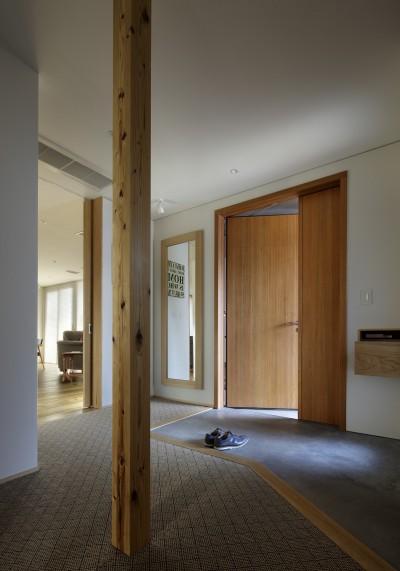 玄関 (House-H Renovation / 築40年木造住宅のリノベーション)