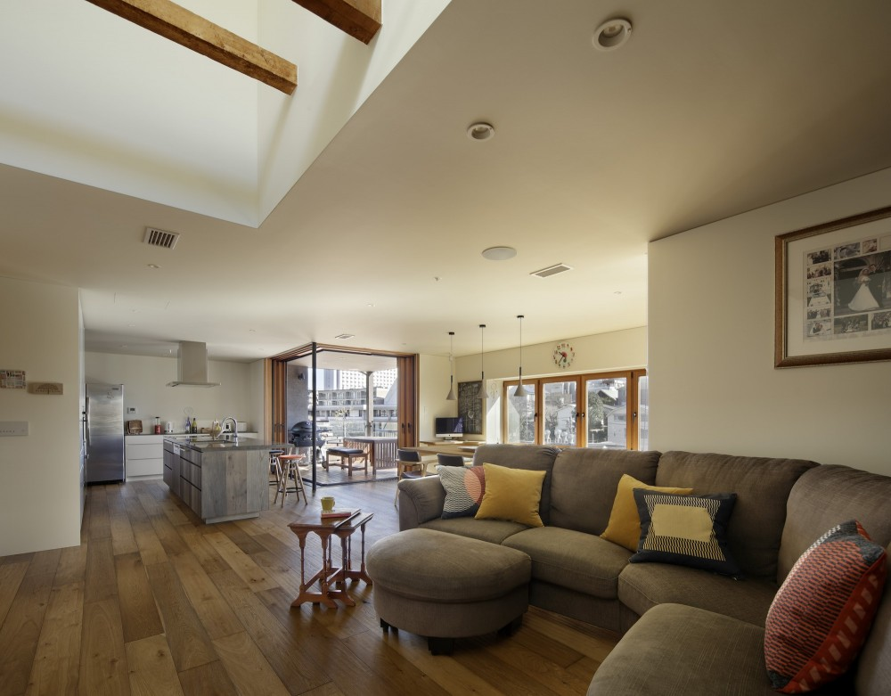 森吉直剛「House-H Renovation / 築40年木造住宅のリノベーション」