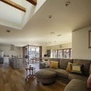 House-H Renovation / 築40年木造住宅のリノベーションの写真 LDK