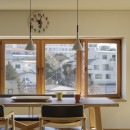 House-H Renovation / 築40年木造住宅のリノベーションの写真 ダイニング