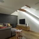 House-H Renovation / 築40年木造住宅のリノベーションの写真 リビング