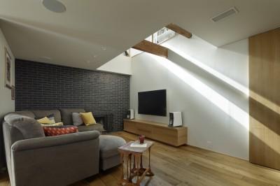 リビング (House-H Renovation / 築40年木造住宅のリノベーション)