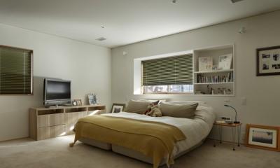 主寝室|House-H Renovation / 築40年木造住宅のリノベーション