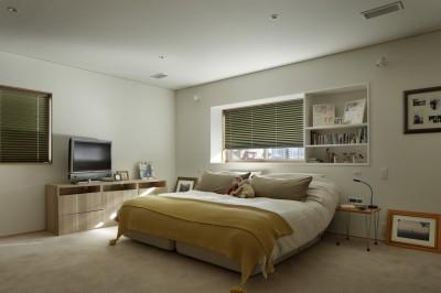 主寝室 (House-H Renovation / 築40年木造住宅のリノベーション)