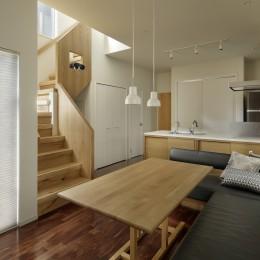 中野のSOHO / ツーバイフォー住宅のリノベーション (LDK)