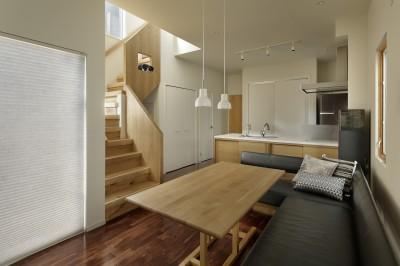 LDK (中野のSOHO / ツーバーフォー住宅のリノベーション)