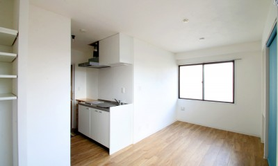東京賃貸リノベの新しい『つくこわリノベーション』 (キッチン)