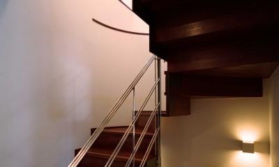 末広の家 (階段)