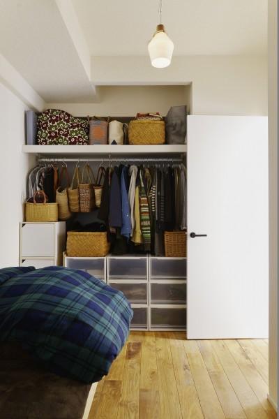 寝室 (10年越しの理想の家。長年の夢が叶いすぎて不思議な気持です。)