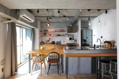 キッチン (Life with My Home ー居心地のいい家が、生活の基盤ー)