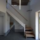 篠山市の小さな家の写真 階段